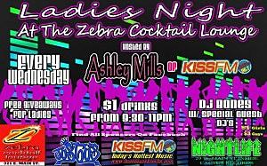 Ladies Night at the Zebra