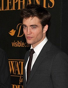 "Robert Pattinson at ""Water For Elephants"" New York Premiere"